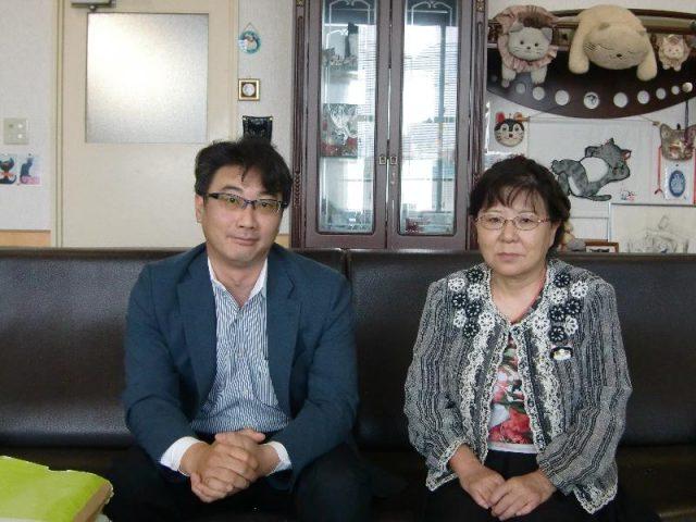 嶋田康子社長と高橋マネージャー